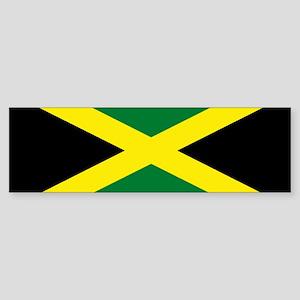 Jamaica National Flag Bumper Sticker