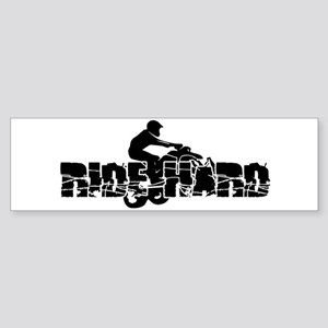 ATV Ride Hard Sticker (Bumper)