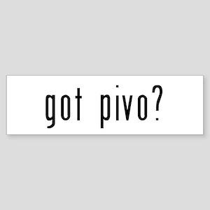 got pivo? Sticker (Bumper)