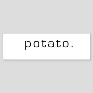 Potato Bumper Sticker