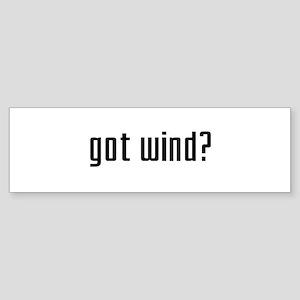 Got Wind? Bumper Sticker