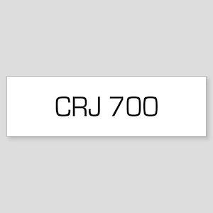 CRJ 700 Bumper Sticker