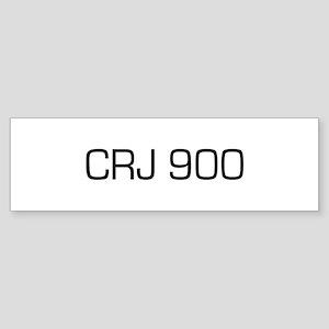 CRJ 900 Bumper Sticker