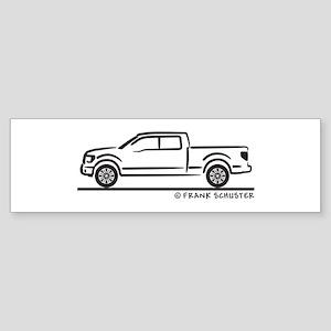 2010 Ford F 150 Sticker (Bumper)