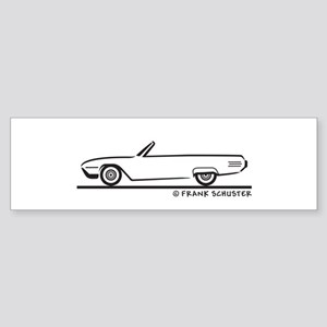 1961 Ford Thunderbird Convert Sticker (Bumper)