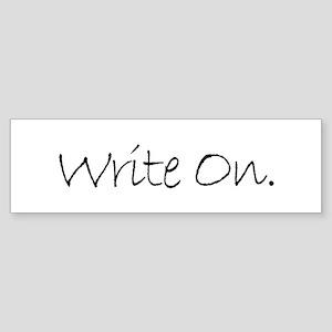 Write On (Ver 4) Sticker (Bumper)