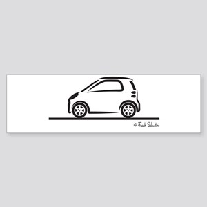 Smart Fortwo side Sticker (Bumper)