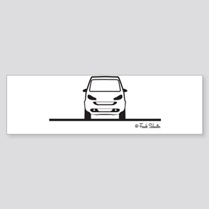 Smart Fortwo Front Sticker (Bumper)