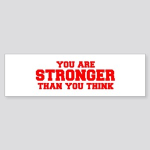 you-are-stronger-fresh-red Bumper Sticker