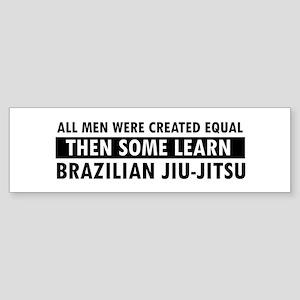 Brazilian Jiu-Jitsu design Sticker (Bumper)
