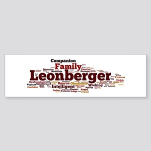 Leonberger Bumper Sticker