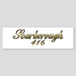 Scarborough, Toronto,Ontario, Canada 416 Sticker