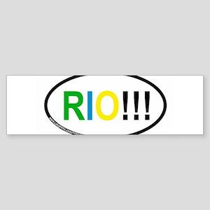 RIO!!! Bumper Sticker