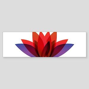 Lotus flower petals Bumper Sticker