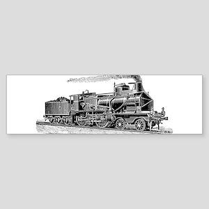VINTAGE TRAINS Bumper Sticker