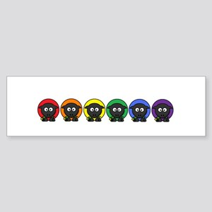 Rainbow Sheep Sticker (Bumper)