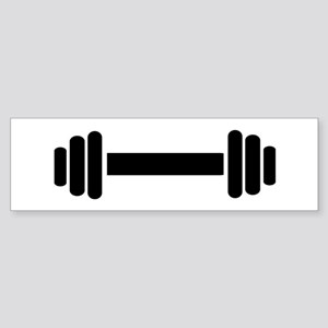Barbell - weightlifting Sticker (Bumper)