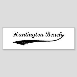 Huntington Beach - Vintage Bumper Sticker