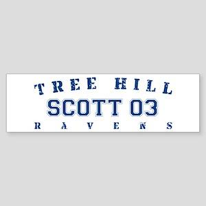 Scott 03 - Tree Hill Ravens Bumper Sticker