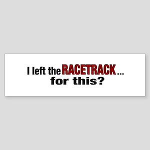 Racetrack Bumper Sticker