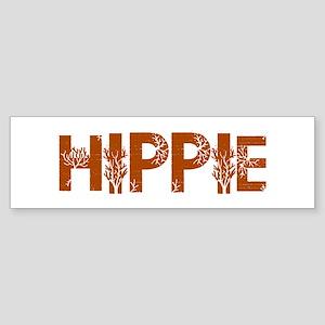 Vintage Hippie Bumper Sticker