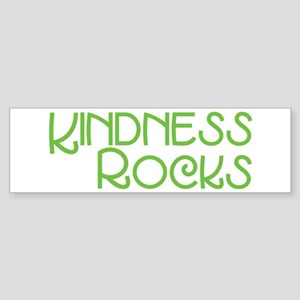 Kindness Rocks, Lime Sticker (Bumper)