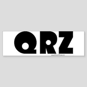 QRZ Bumper Sticker