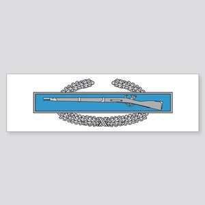 Combat Infantry Badge Bumper Sticker