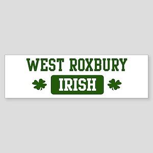 West Roxbury Irish Bumper Sticker