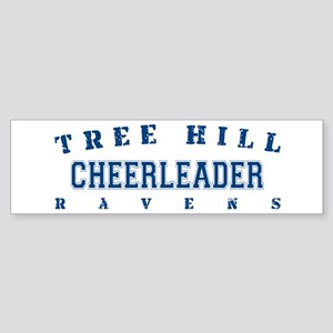Cheerleader - Tree Hill Ravens Bumper Sticker