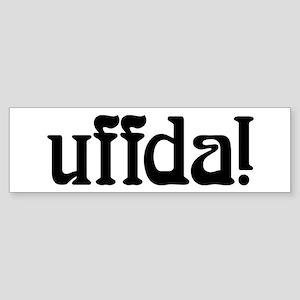 uffda Bumper Sticker