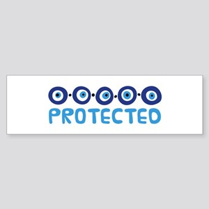 Protected Bumper Sticker