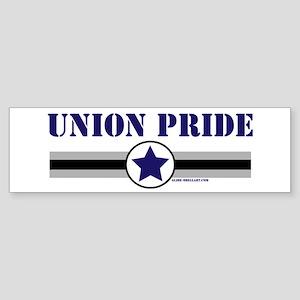 UNION PRIDE STAR Bumper Sticker