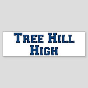 Tree Hill High - Blue/Black Bumper Sticker