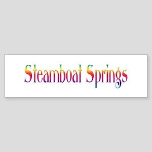 Steamboat Springs Bumper Sticker
