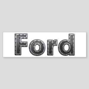 Ford Metal Bumper Sticker