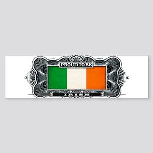 Proud To Be Irish Bumper Sticker