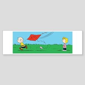 Kite Flight Failure Sticker (Bumper)