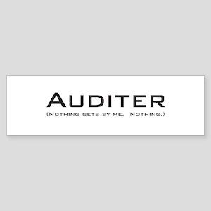 Auditer Bumper Sticker