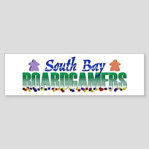 South Bay Boardgamers Bumper Sticker