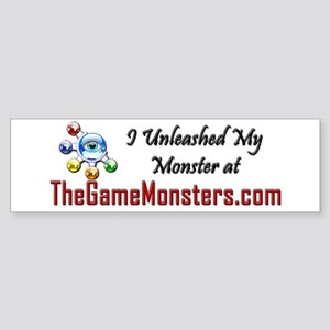 Game Monsters Bumper Sticker