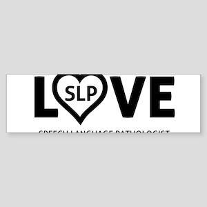 LOVE SLP Sticker (Bumper)