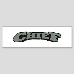Chief Sticker (Bumper)