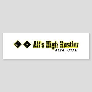 Ski Alta, Alfs High Rustler Bumper Sticker