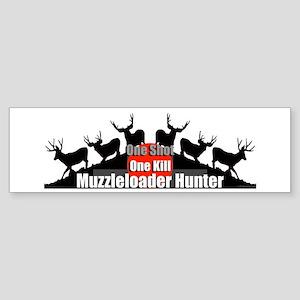 Muzzleloader Sticker (Bumper)