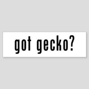 GOT GECKO Sticker (Bumper)