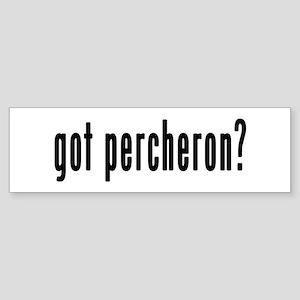 GOT PERCHERON Sticker (Bumper)