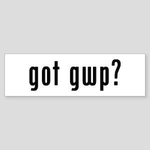 GOT GWP Sticker (Bumper)