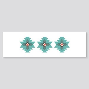 Southwest Native Border Bumper Sticker