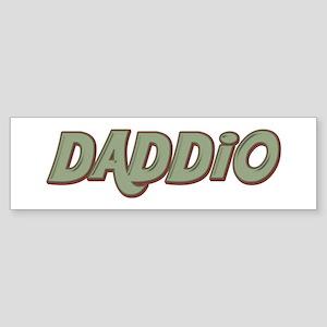 Daddio Bumper Sticker